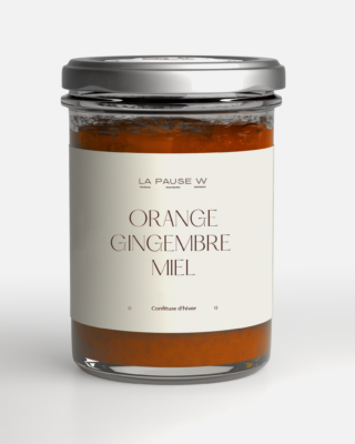 Confiture Orange, Gingembre & Miel - La Pause W